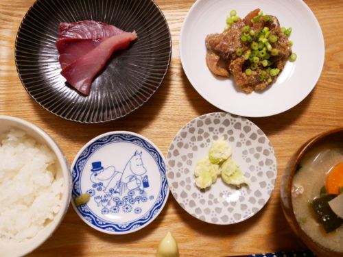 そら豆の天ぷらの膳