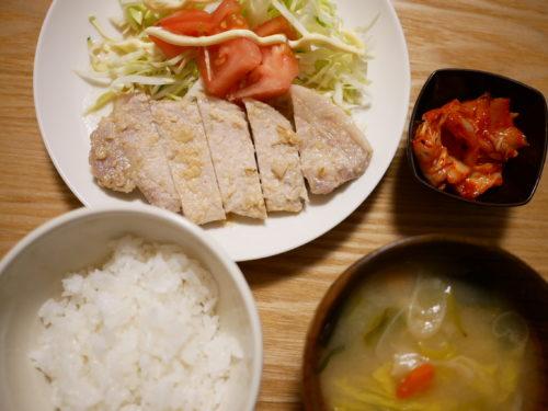 豚の味噌漬け焼きの膳