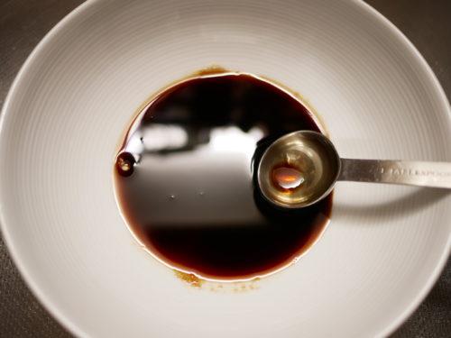 醤油味の甘酢