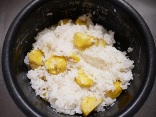 栗ご飯の作り方