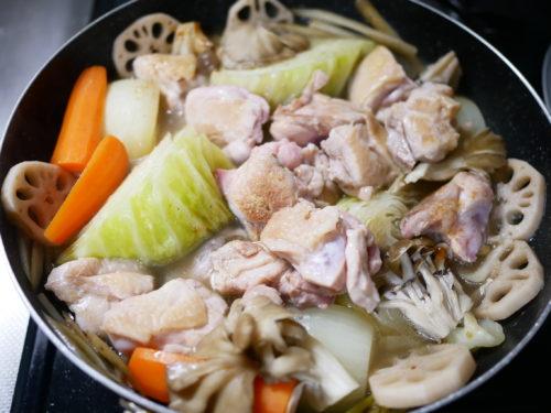鶏のトマト煮の作り方