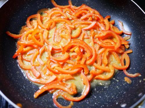 パプリカの味噌炒めの作り方