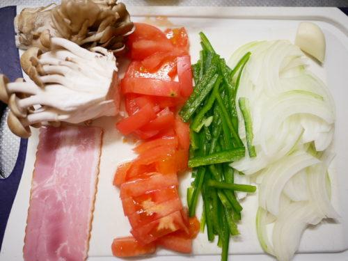 野菜などを切る
